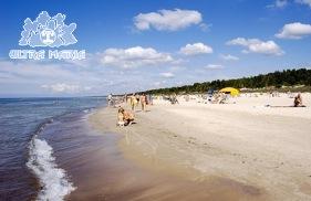 Pałanga Plaża Litwa Morze Bałtyckie