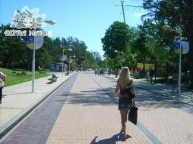 Pałanga Połąga Promenada na Molo Litwa