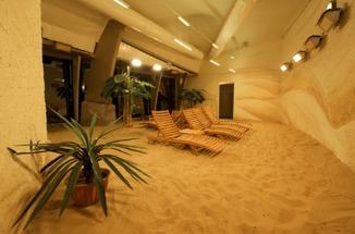 Sztuczna plaża! Oświetlenie solarne! Grand SPA Lietuva