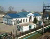 Dworzec Kolejowy Baranowicze Białoruś
