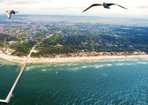 Palanga Połąga Litwa Morze Bałtyckie Rezerwacja