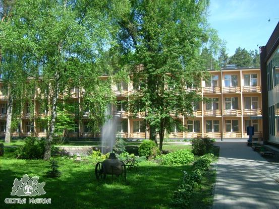 Sanatorium Dainava Druskienniki Nocleg, Zabiegi