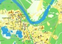 Mapa Druskienniki