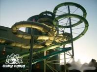 Aquapark zjeżdzalnia